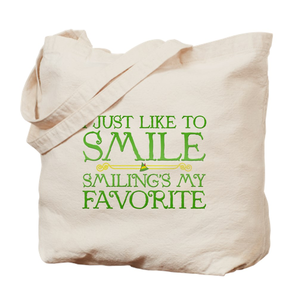 I Just Like to Smile, Smiling's My Favorite Tote Bag