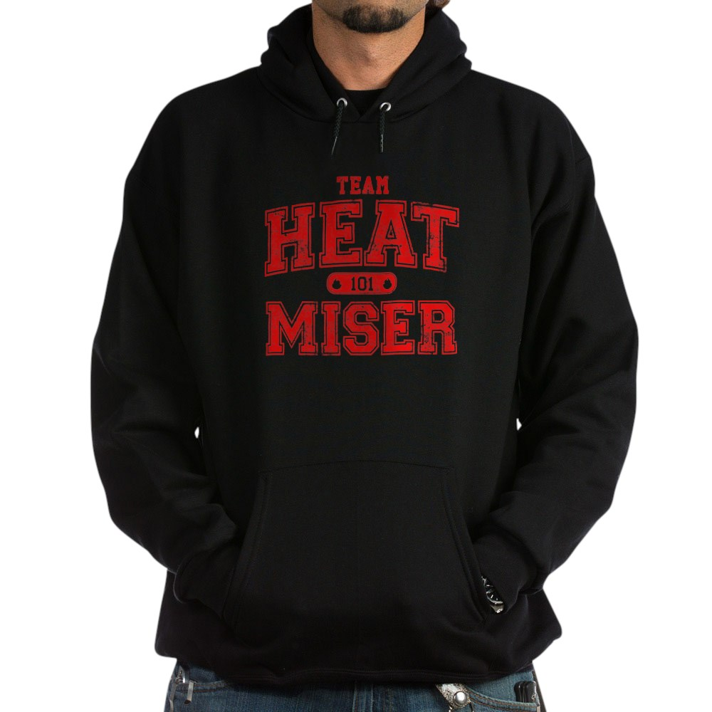 Team Heat Miser Dark Hoodie