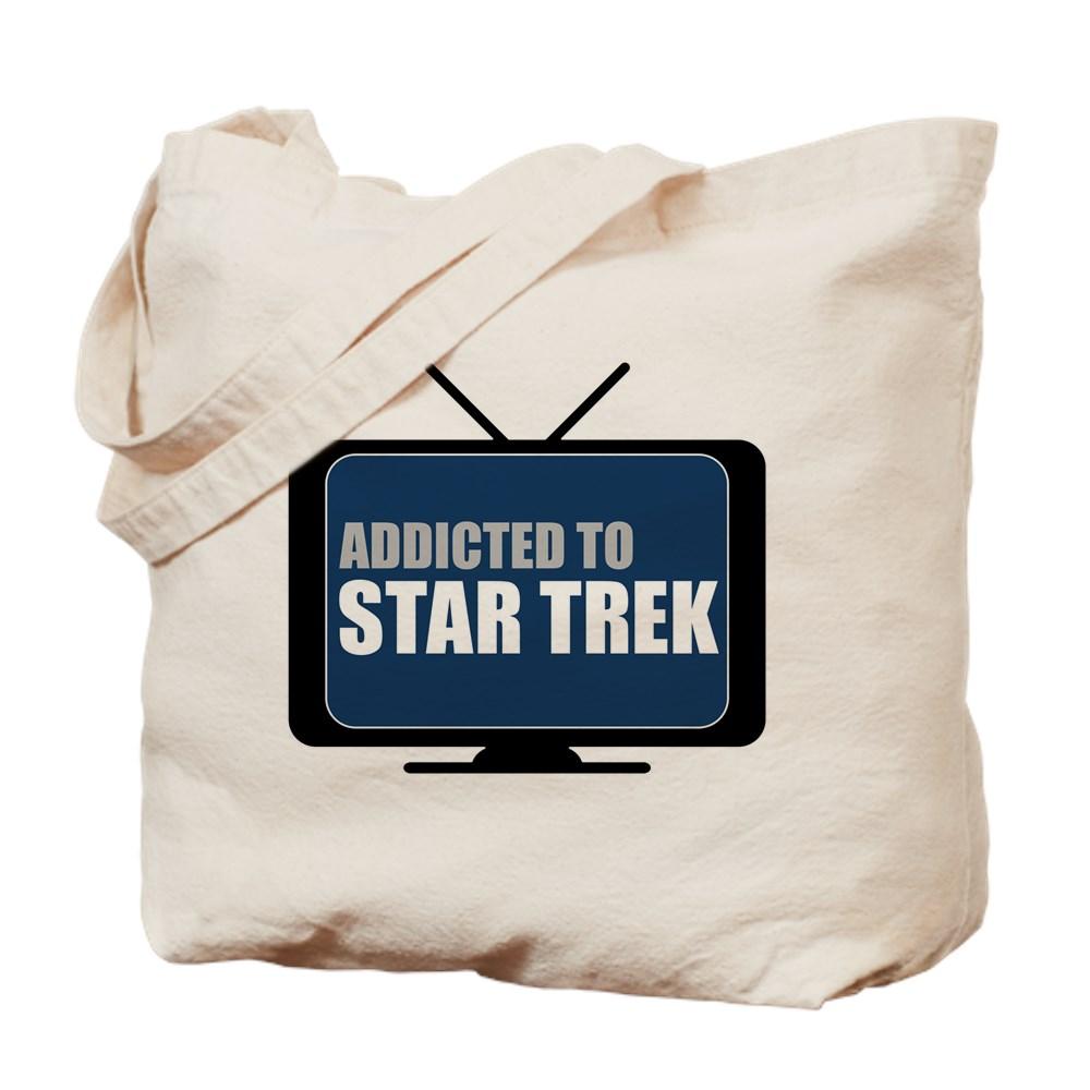 Addicted to Star Trek Tote Bag