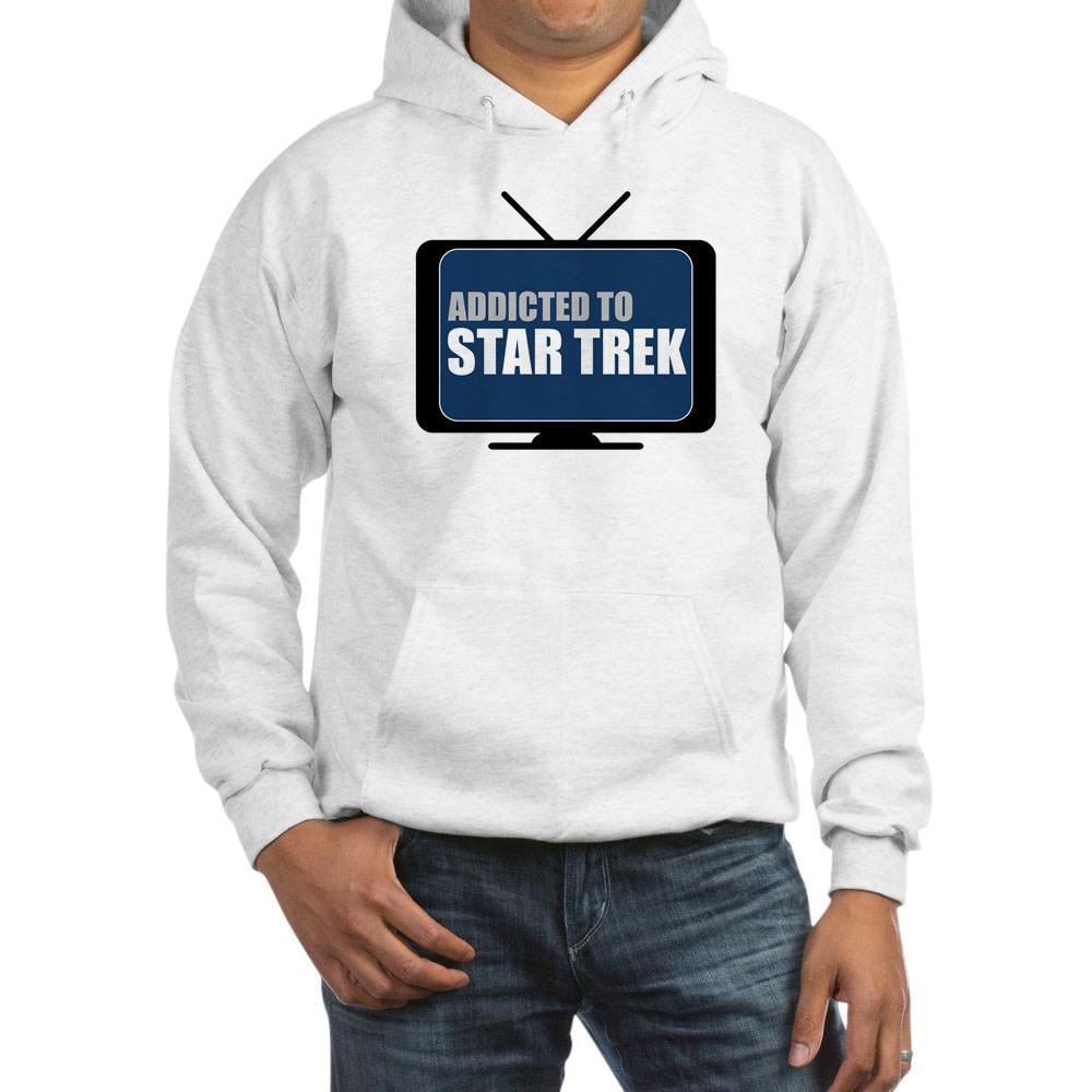 Addicted to Star Trek Hooded Sweatshirt