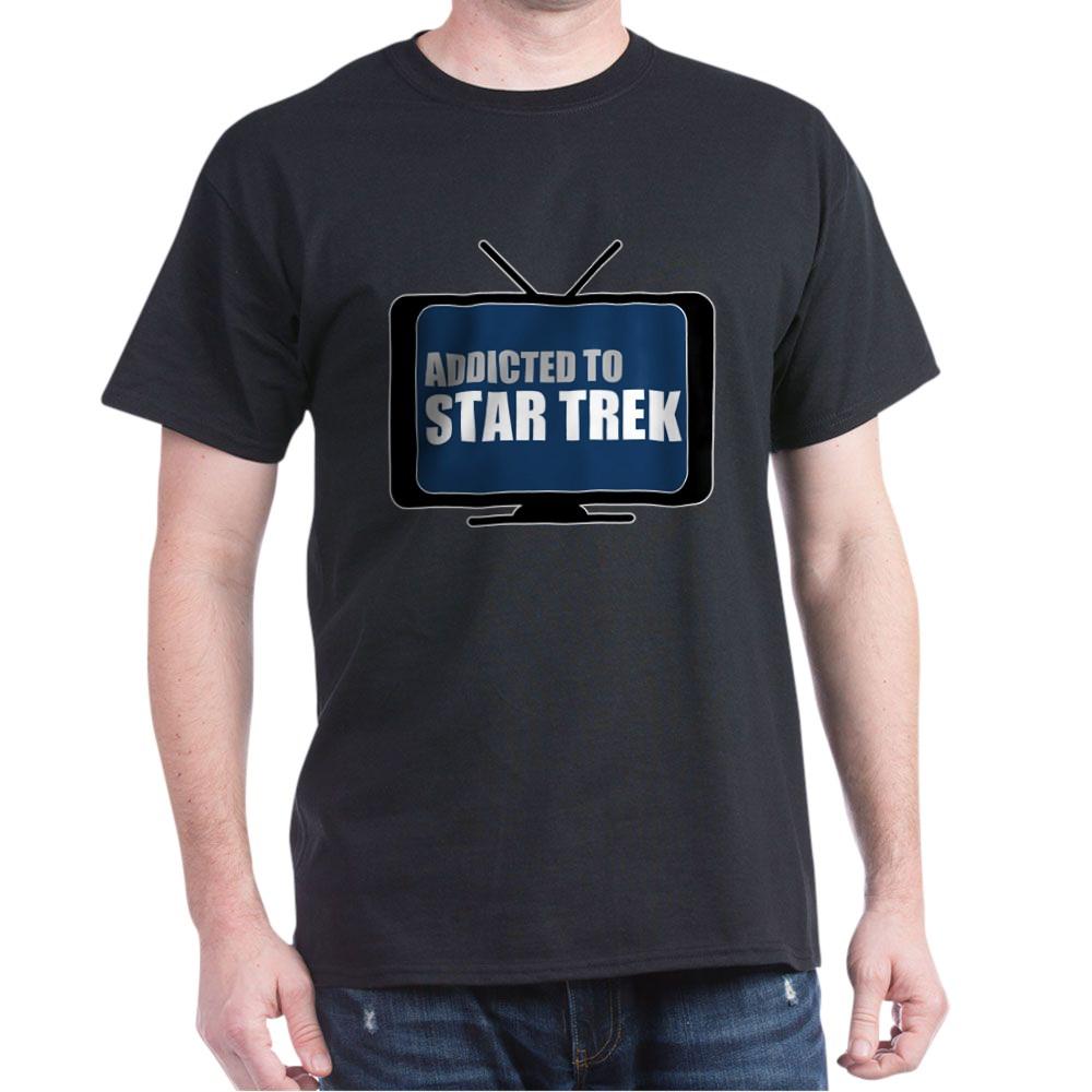 Addicted to Star Trek Dark T-Shirt