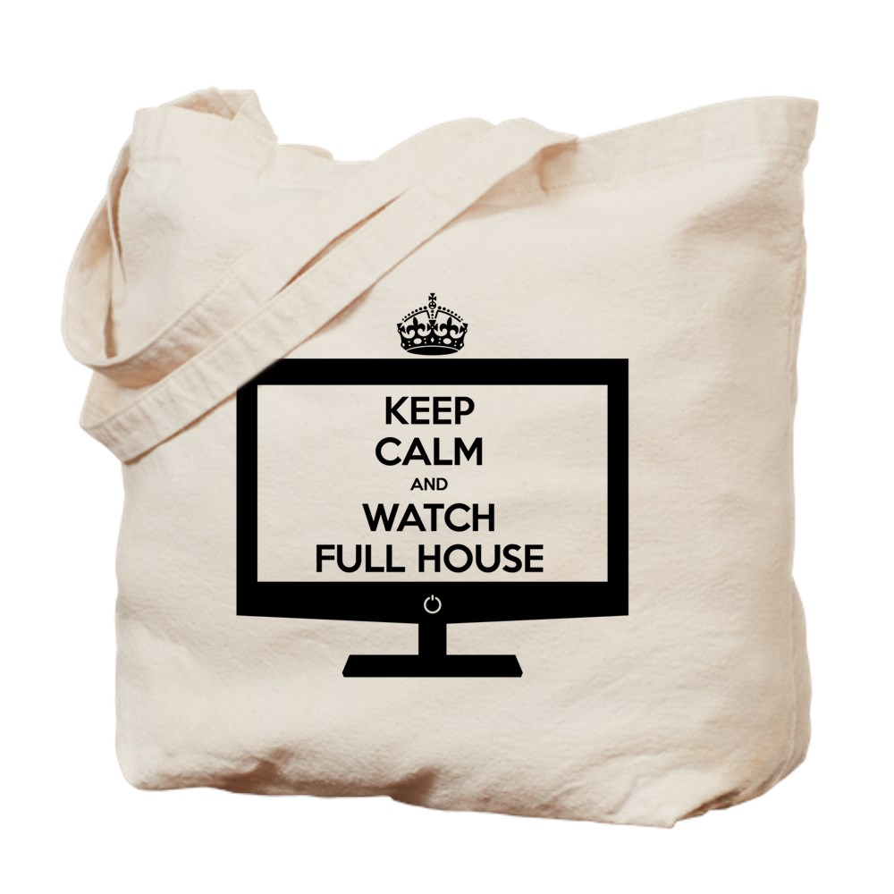 Keep Calm and Watch Full House Tote Bag