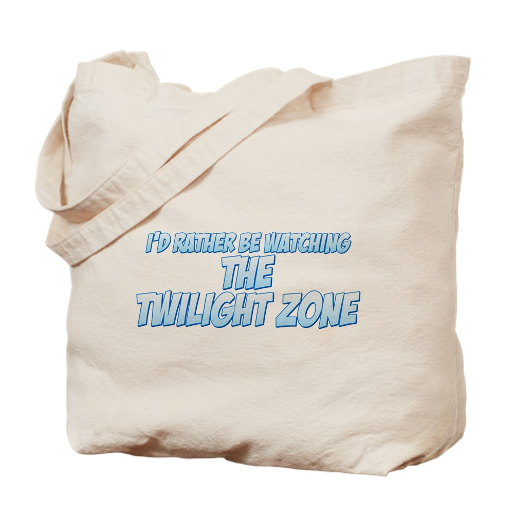 I'd Rather Be Watching The Twilight Zone Tote Bag