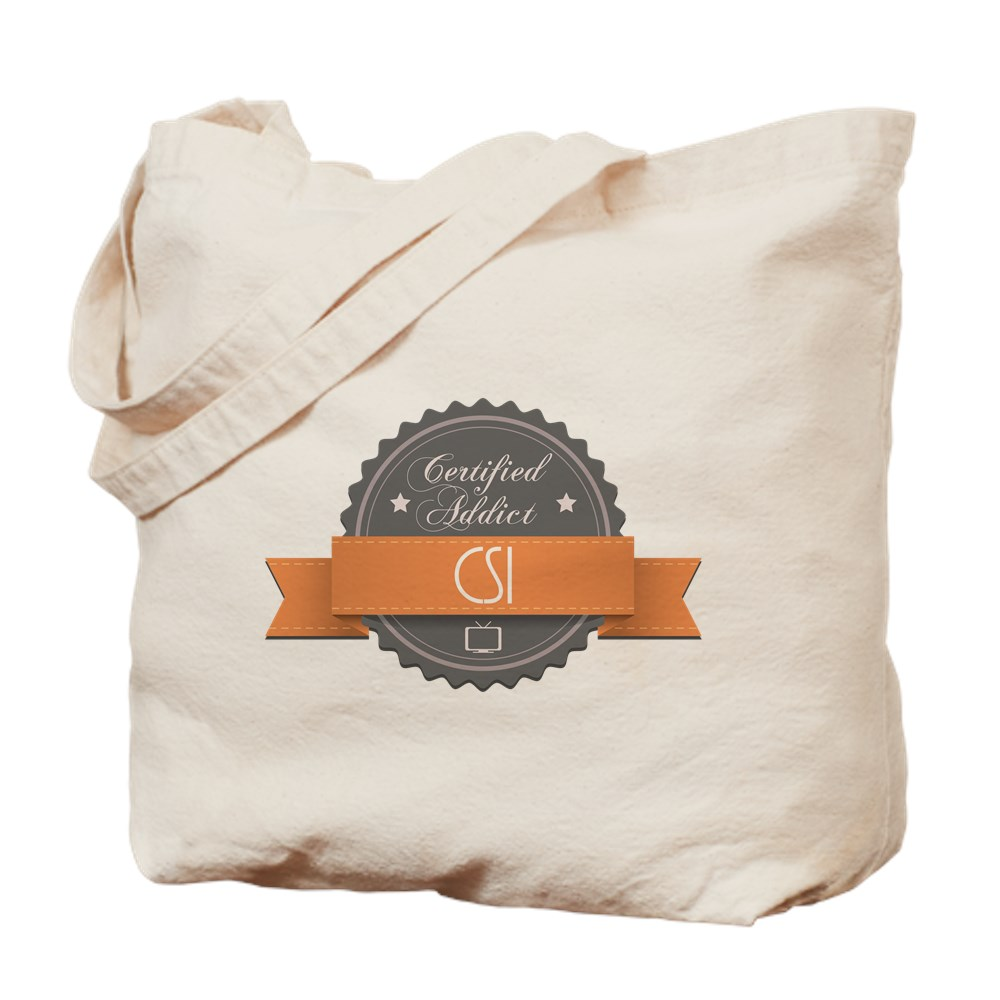Certified Addict: CSI Tote Bag
