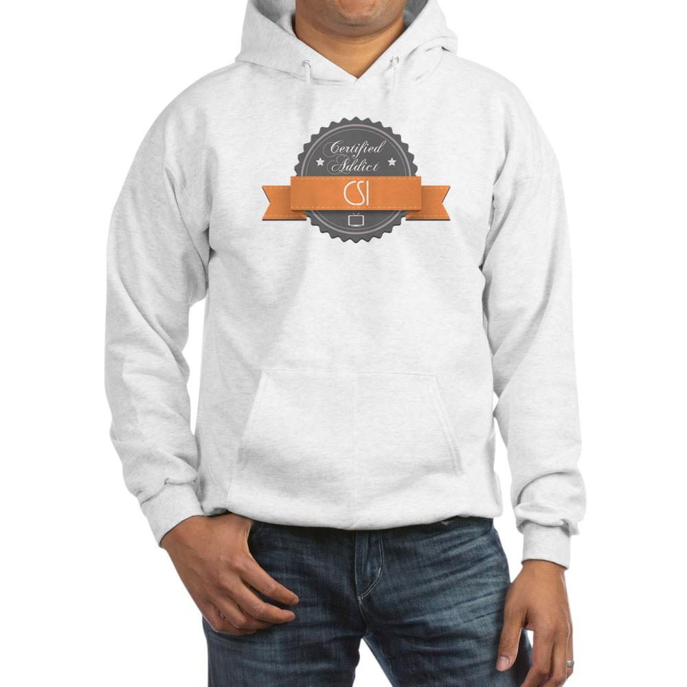 Certified Addict: CSI Hooded Sweatshirt