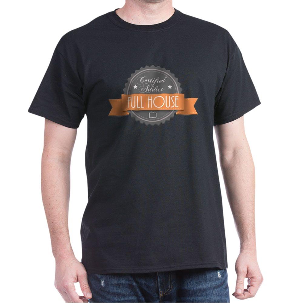 Certified Addict: Full House Dark T-Shirt