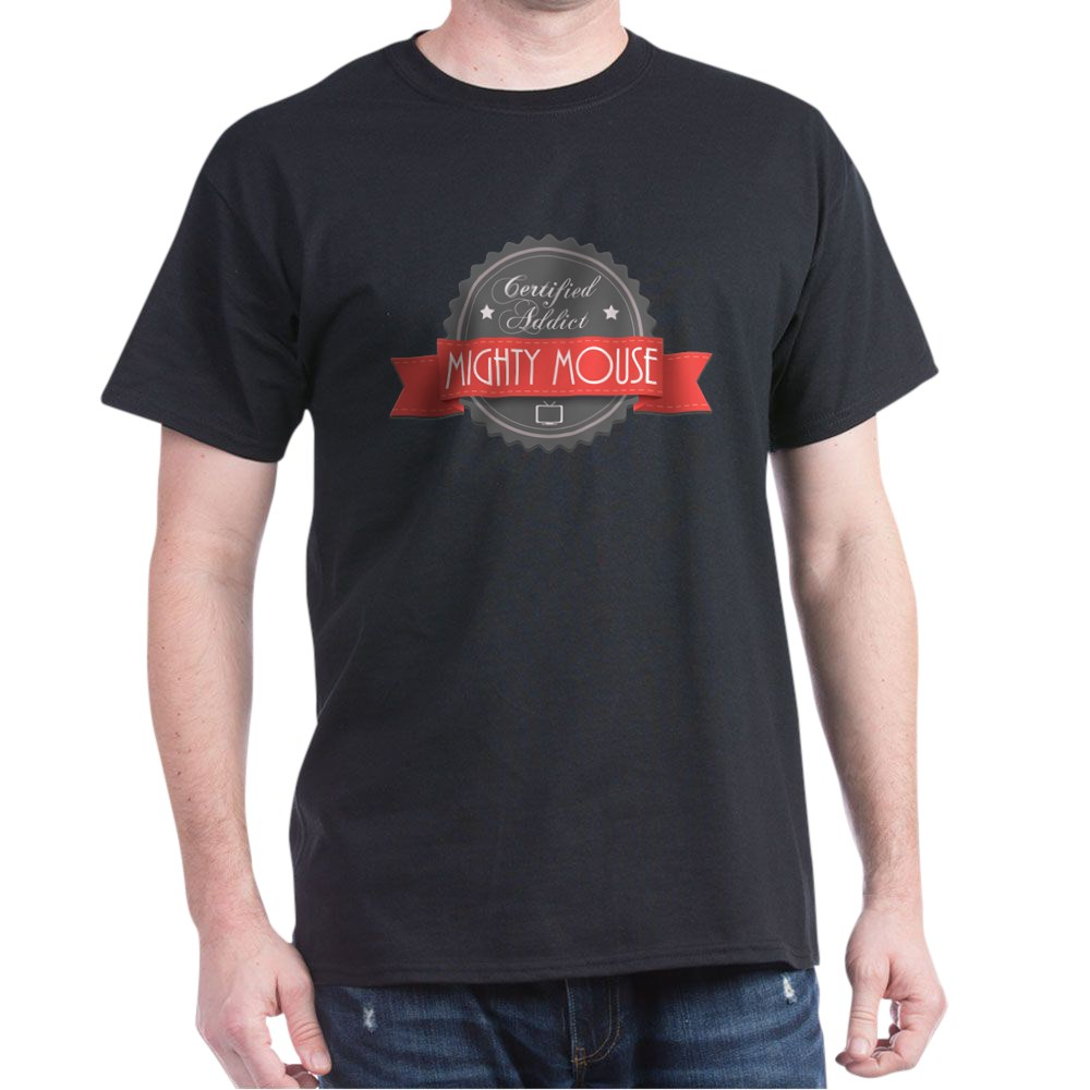 Certified Addict: Mighty Mouse Dark T-Shirt