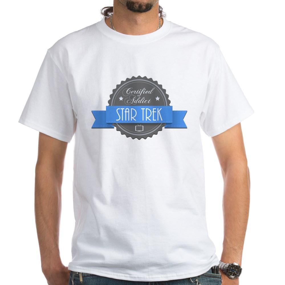 Certified Addict: Star Trek White T-Shirt