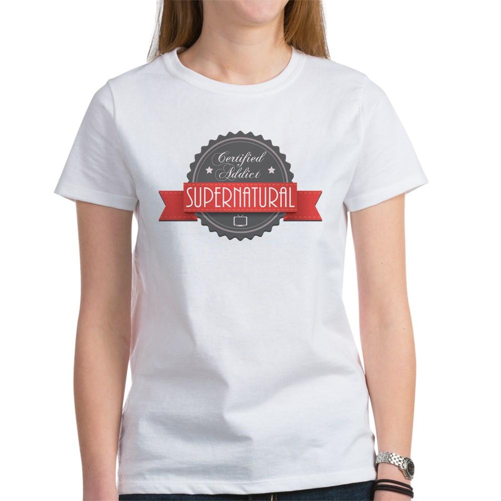 Certified Addict: Supernatural Women's T-Shirt