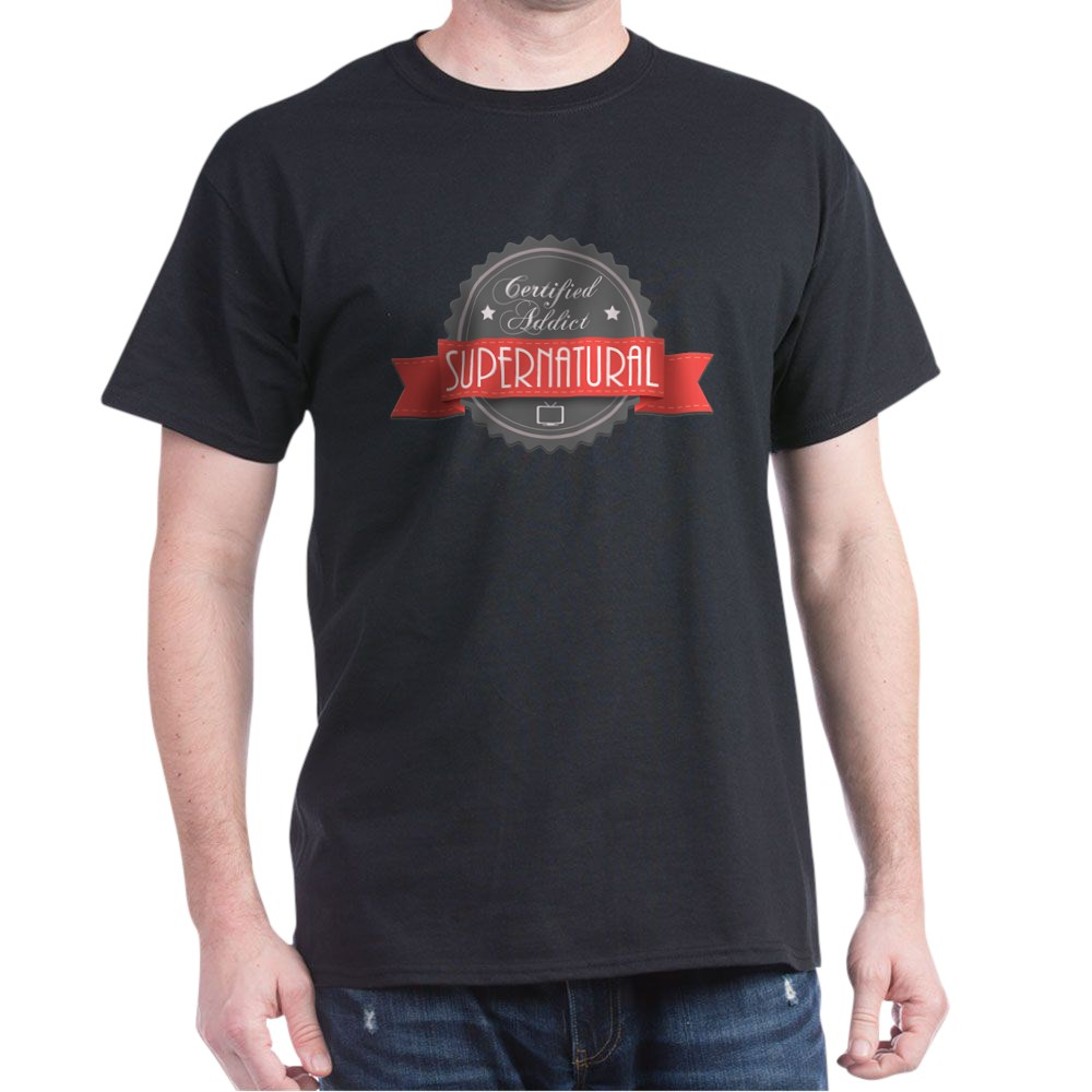 Certified Addict: Supernatural Dark T-Shirt