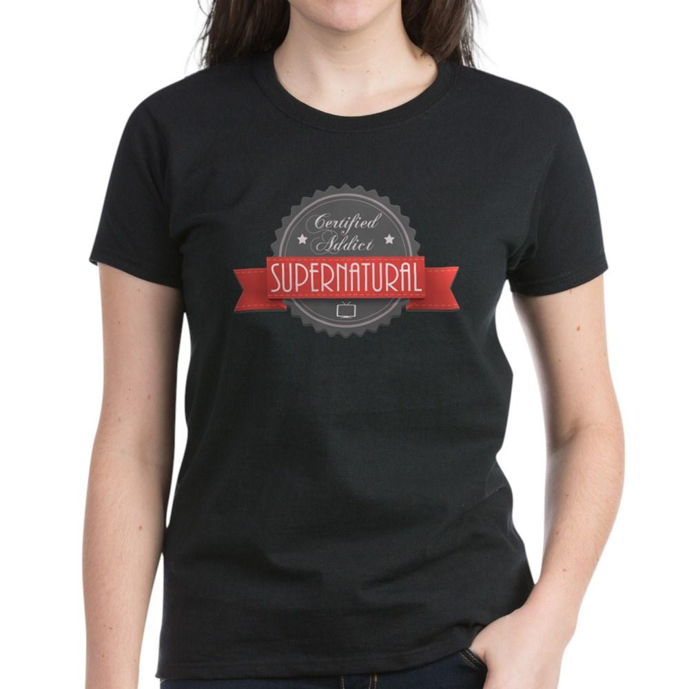 Certified Addict: Supernatural Women's Dark T-Shirt