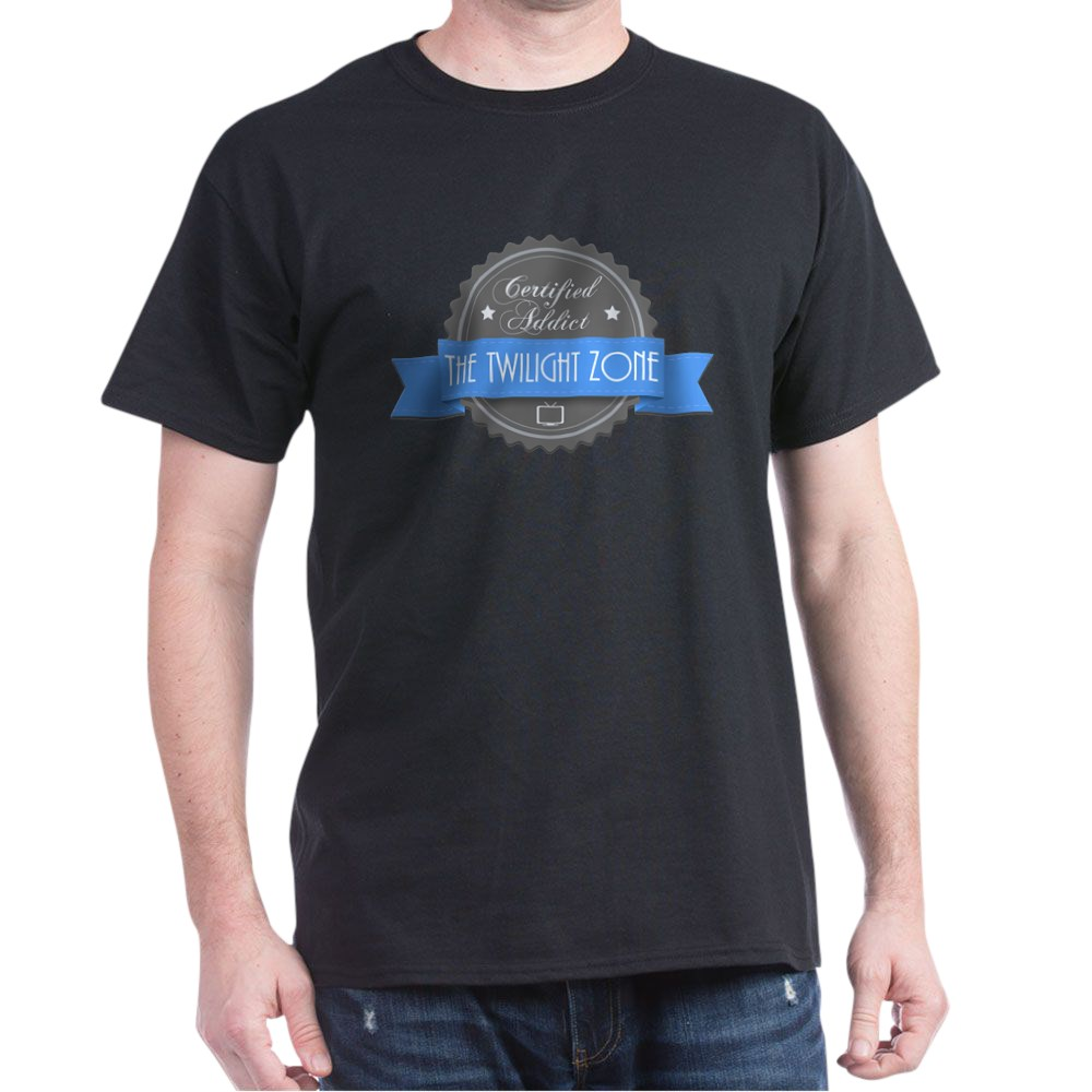 Certified Addict: The Twilight Zone Dark T-Shirt