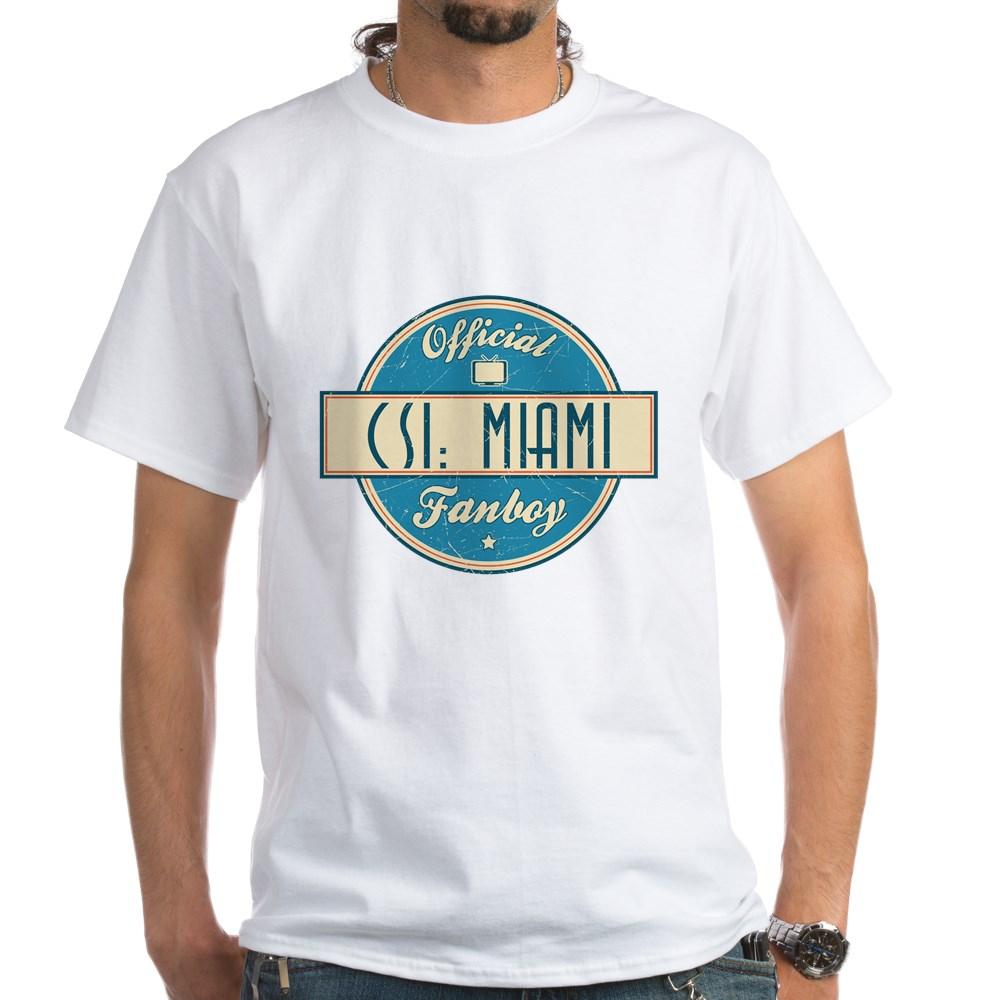 Official CSI: Miami Fanboy White T-Shirt