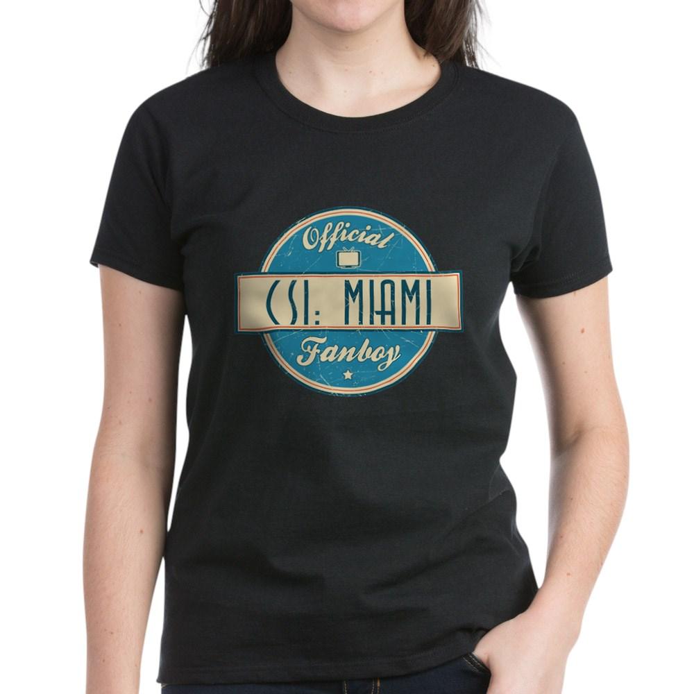 Official CSI: Miami Fanboy Women's Dark T-Shirt