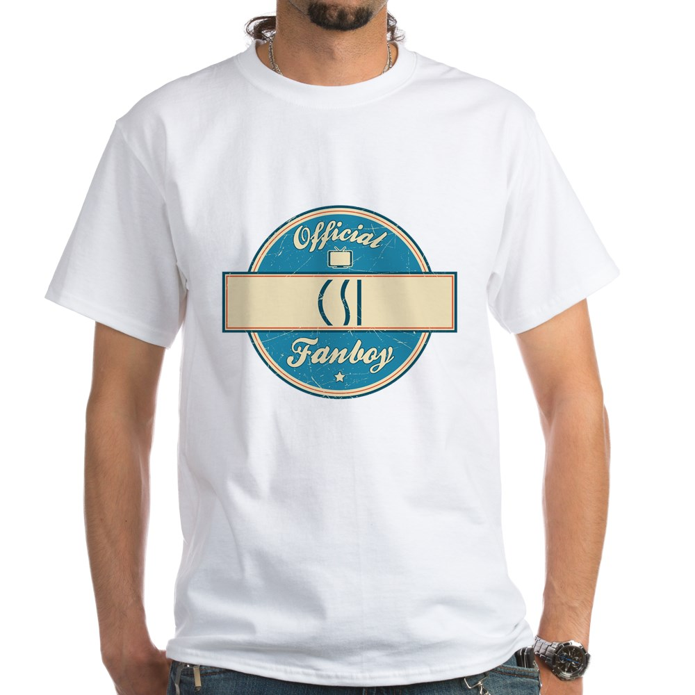 Official CSI Fanboy White T-Shirt