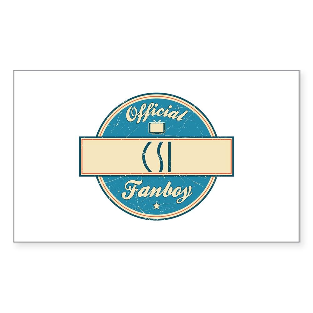 Official CSI Fanboy Rectangle Sticker