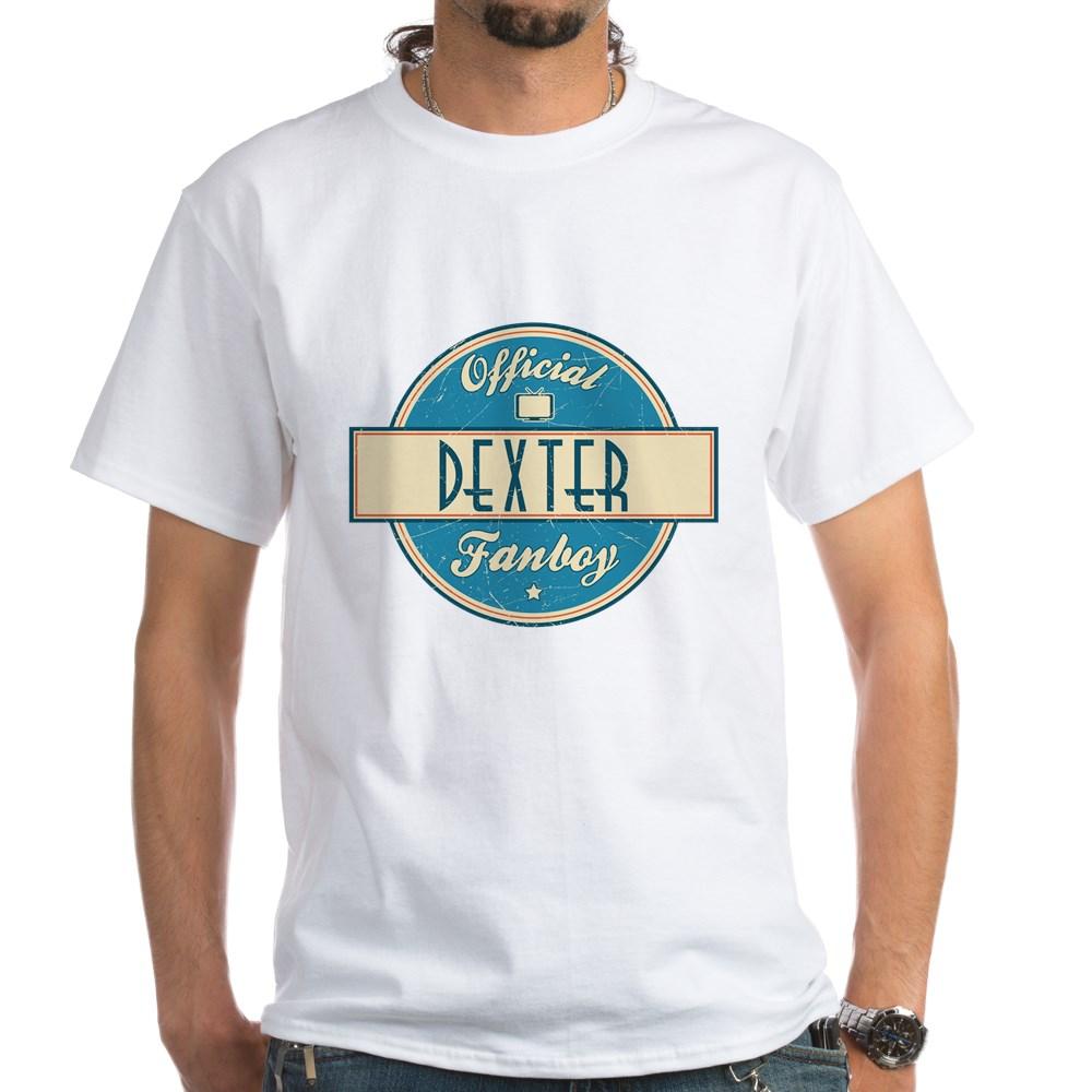 Official Dexter Fanboy White T-Shirt
