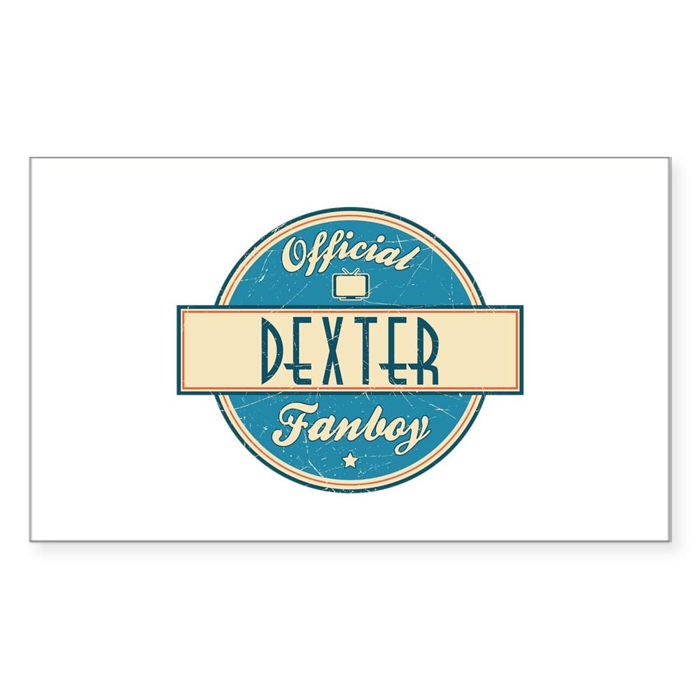 Official Dexter Fanboy Rectangle Sticker