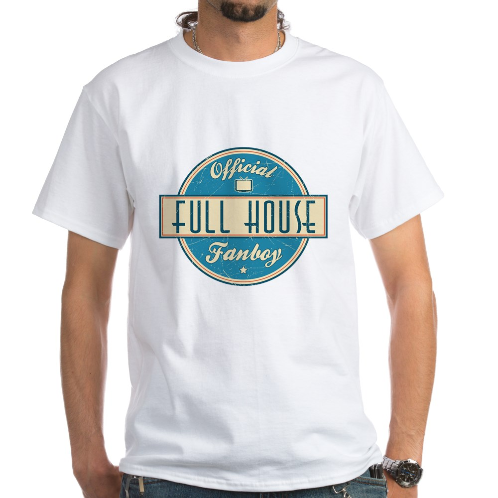 Official Full House Fanboy White T-Shirt