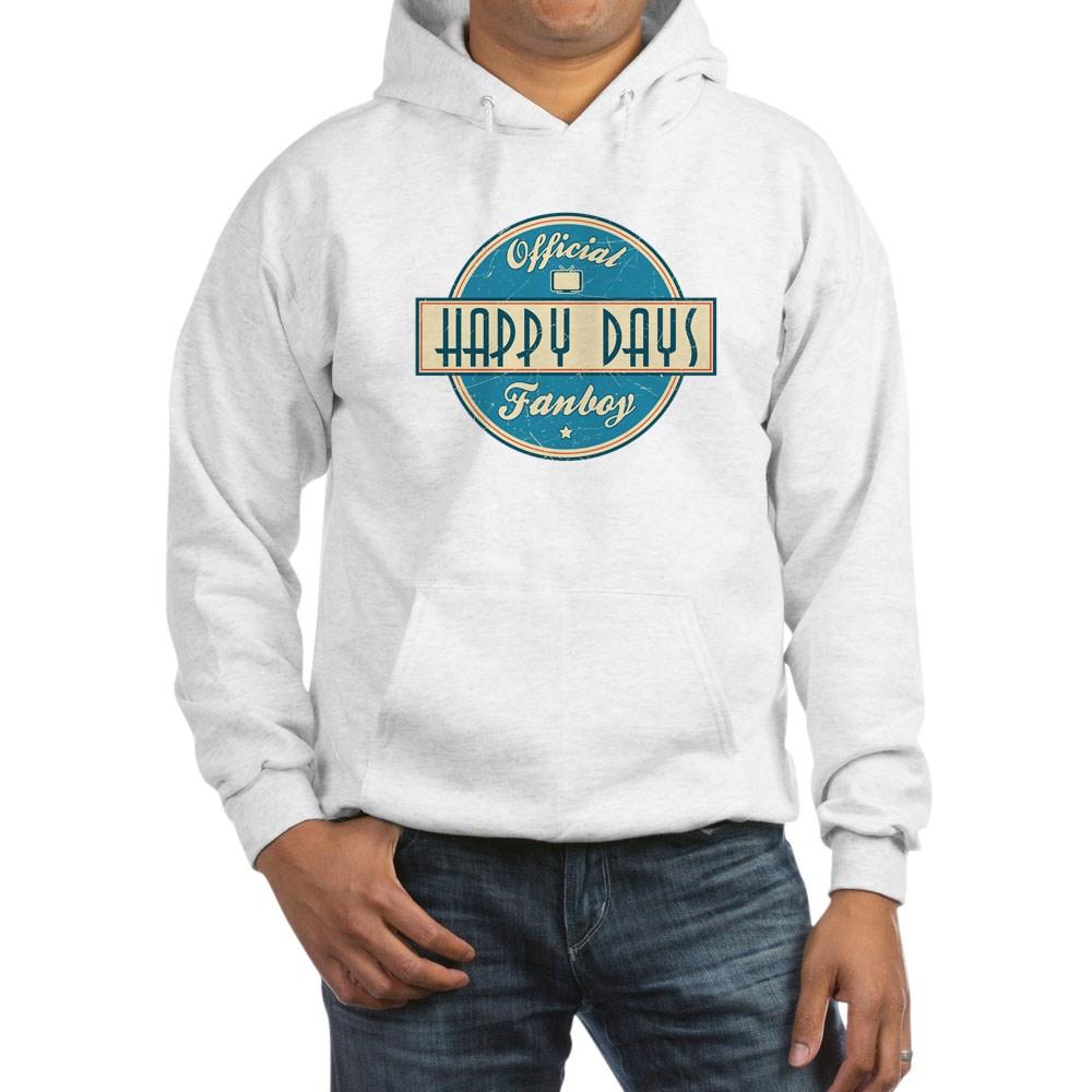 Official Happy Days Fanboy Hooded Sweatshirt