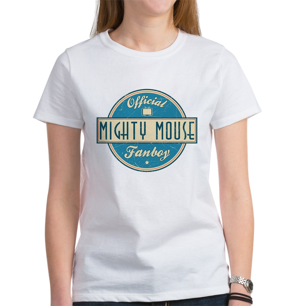 Official Mighty Mouse Fanboy Women's T-Shirt