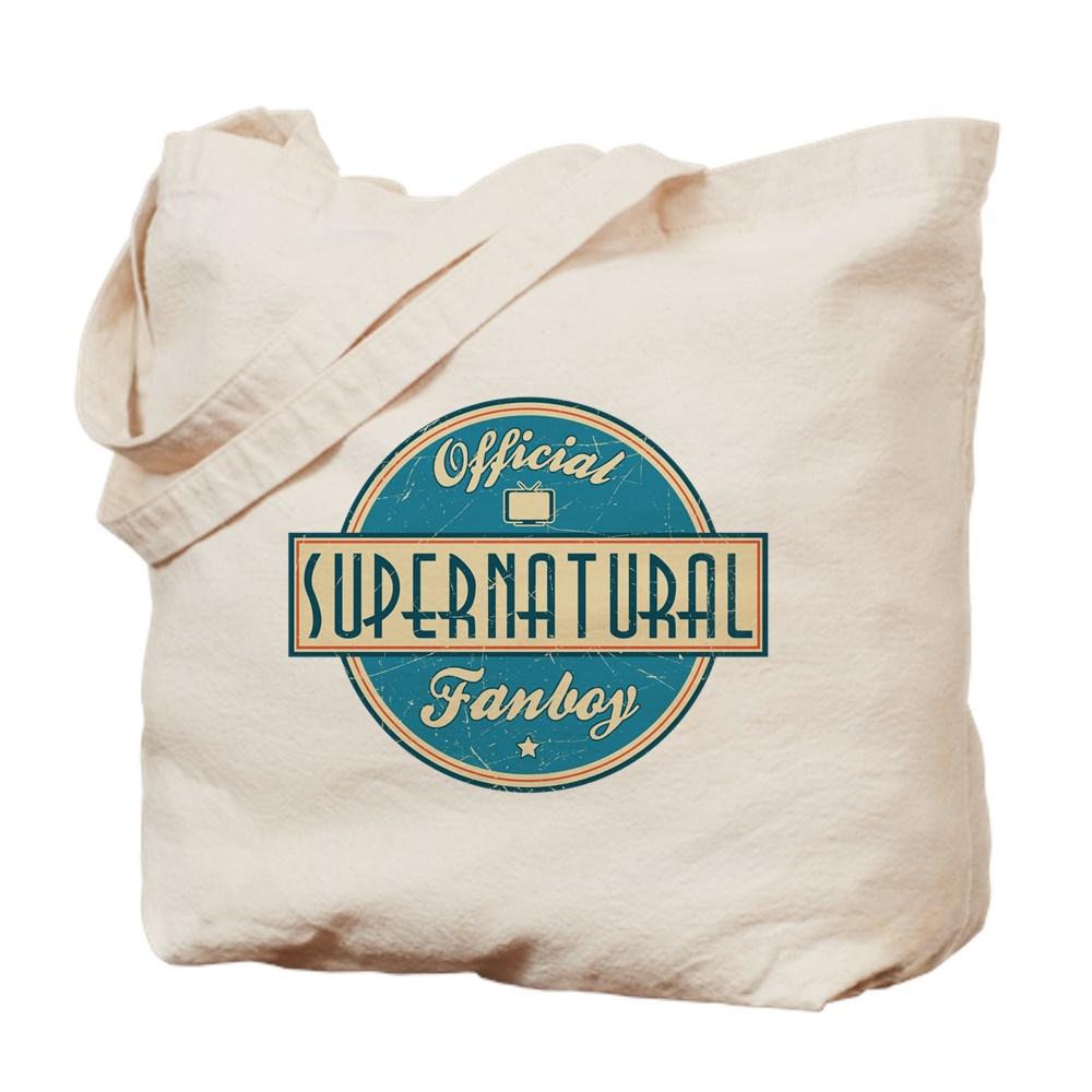 Official Supernatural Fanboy Tote Bag