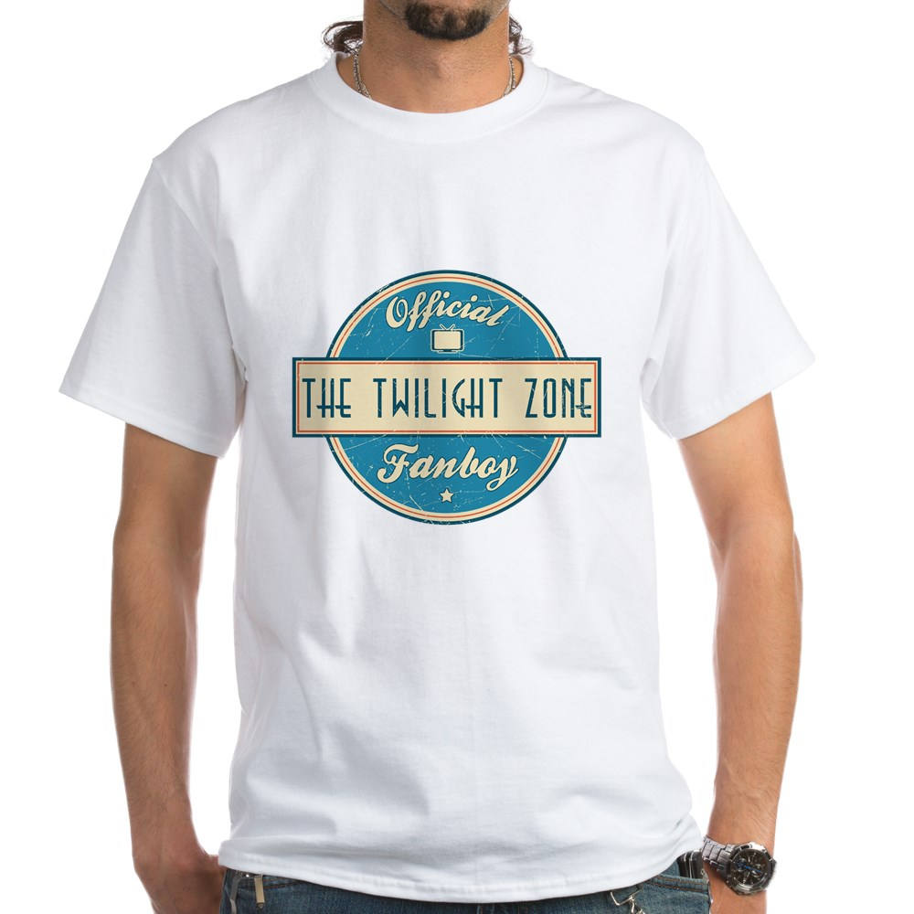 Official The Twilight Zone Fanboy White T-Shirt