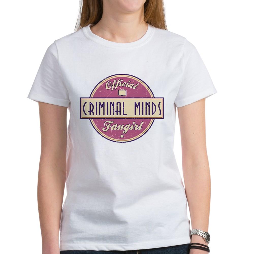 Official Criminal Minds Fangirl Women's T-Shirt