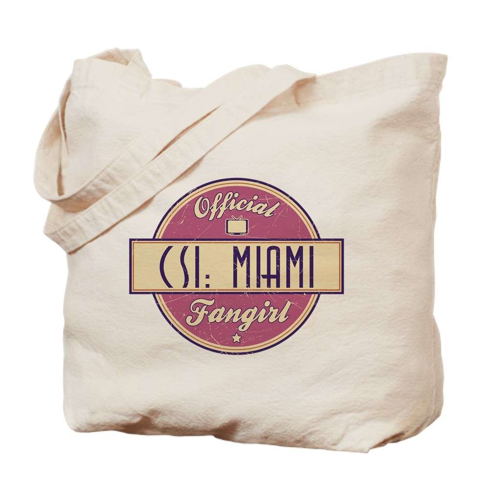 Official CSI: Miami Fangirl Tote Bag