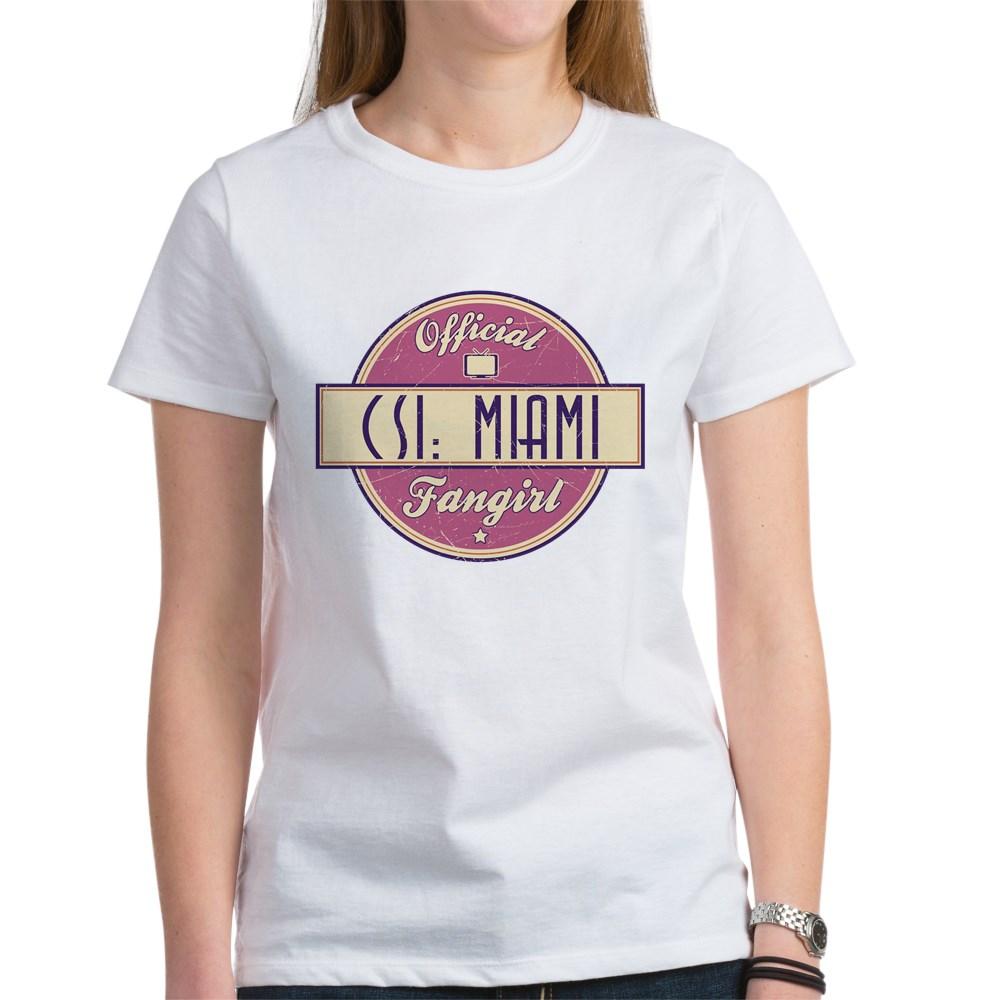 Official CSI: Miami Fangirl Women's T-Shirt