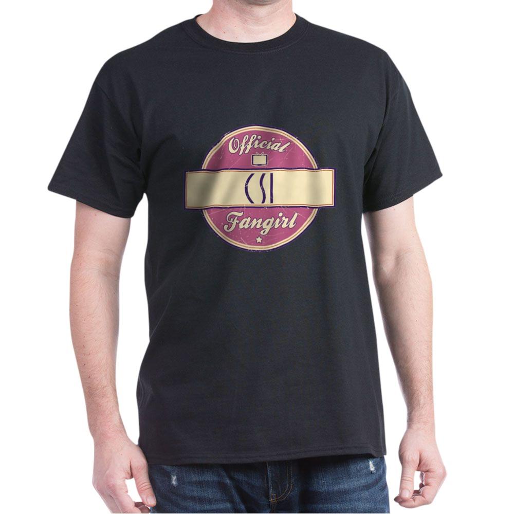 Official CSI Fangirl Dark T-Shirt