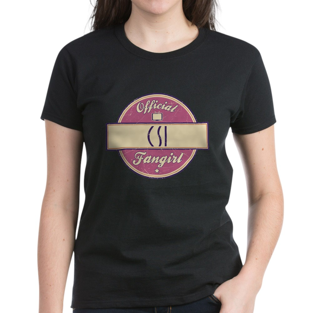 Official CSI Fangirl Women's Dark T-Shirt
