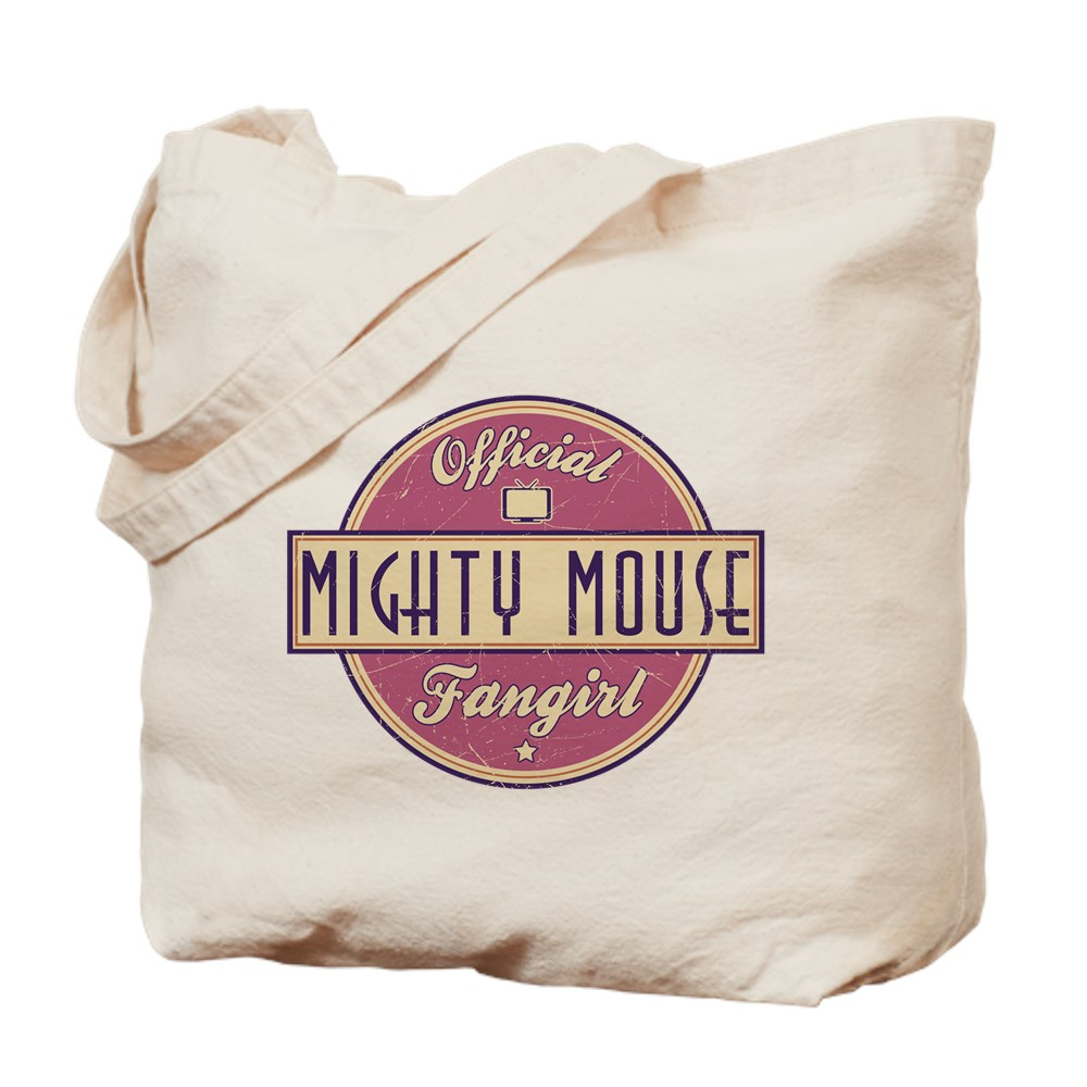 Official Mighty Mouse Fangirl Tote Bag