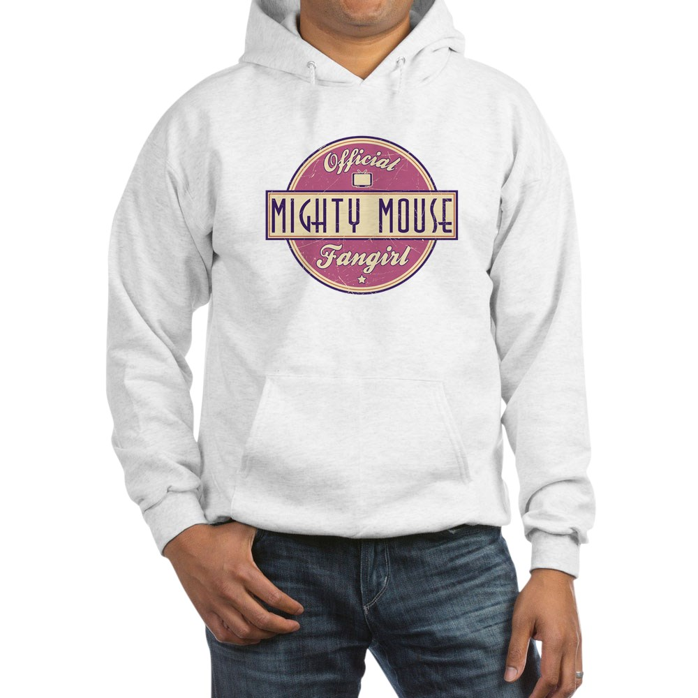 Official Mighty Mouse Fangirl Hooded Sweatshirt