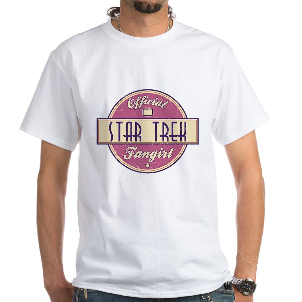 Official Star Trek Fangirl White T-Shirt