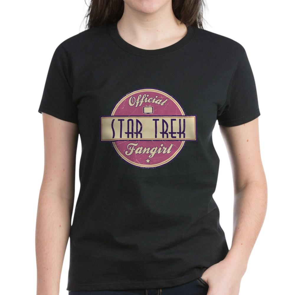 Official Star Trek Fangirl Women's Dark T-Shirt