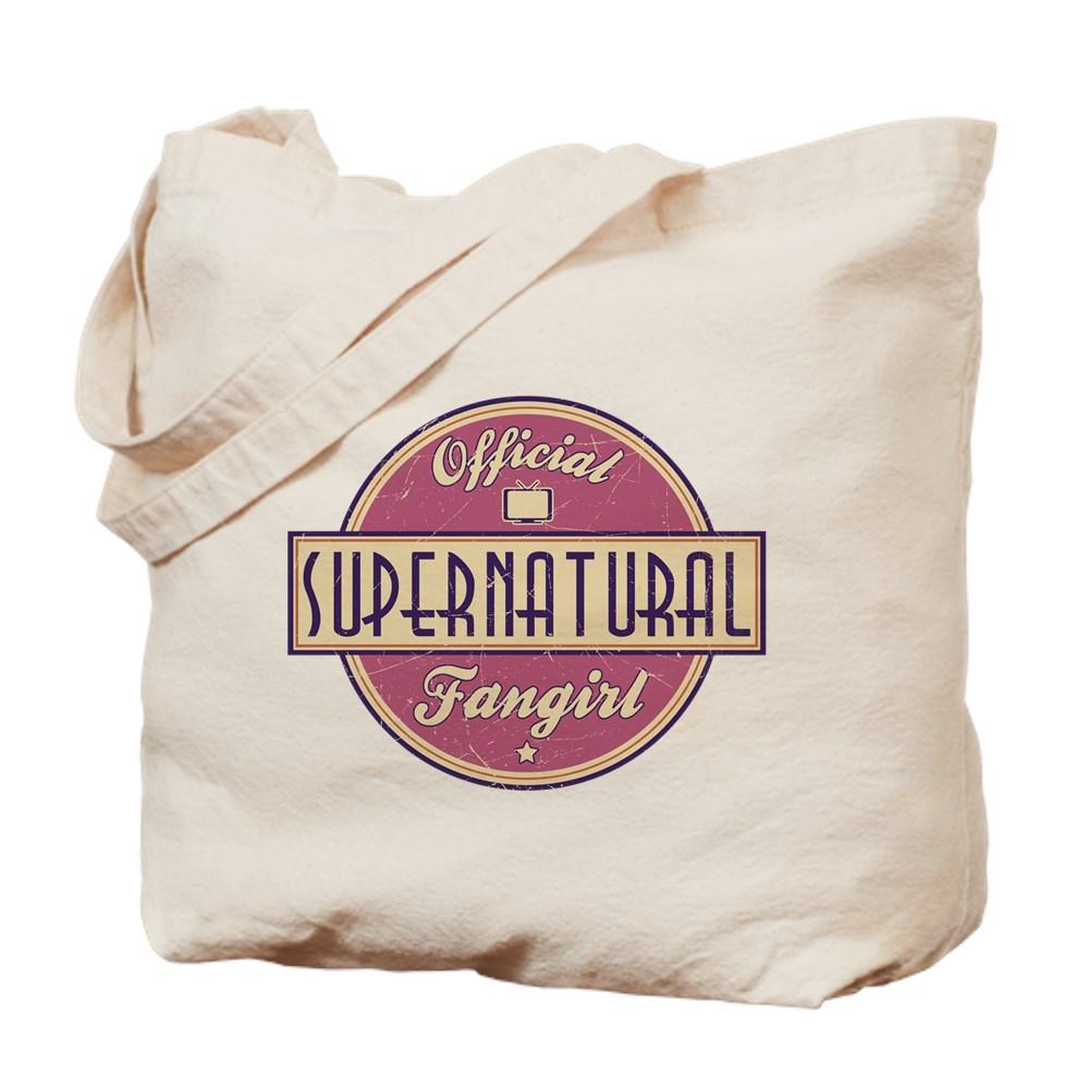 Official Supernatural Fangirl Tote Bag