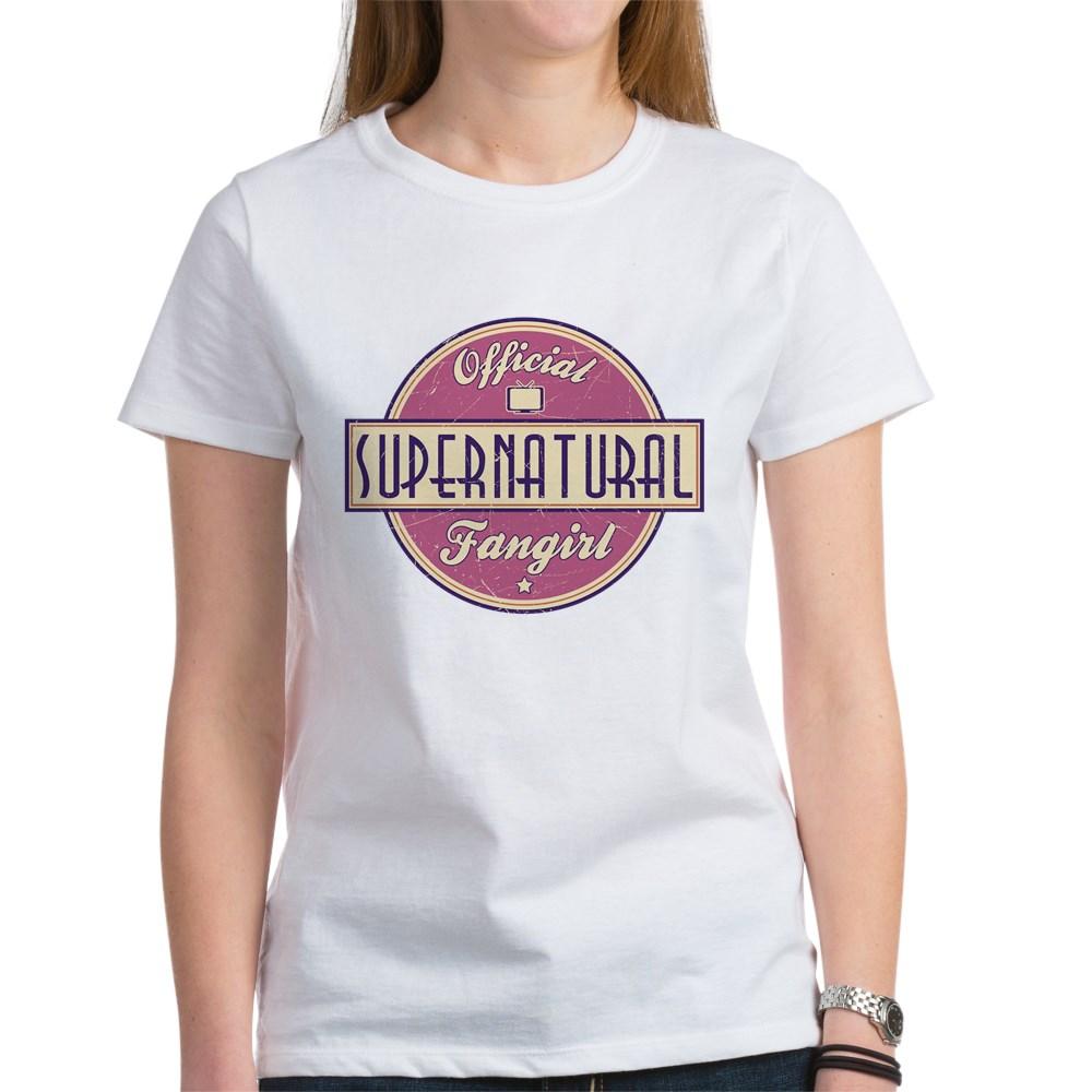 Official Supernatural Fangirl Women's T-Shirt