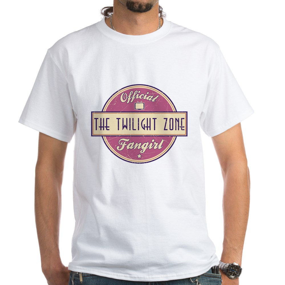 Official The Twilight Zone Fangirl White T-Shirt