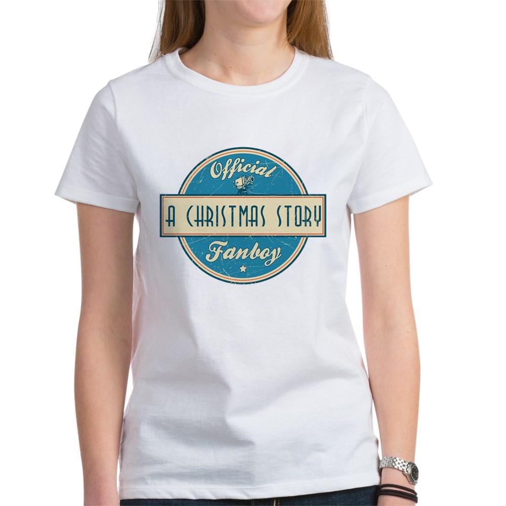 Official A Christmas Story Fanboy Women's T-Shirt