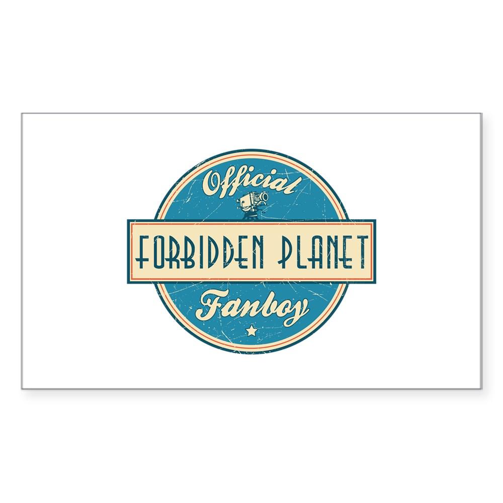 Official Forbidden Planet Fanboy Rectangle Sticker