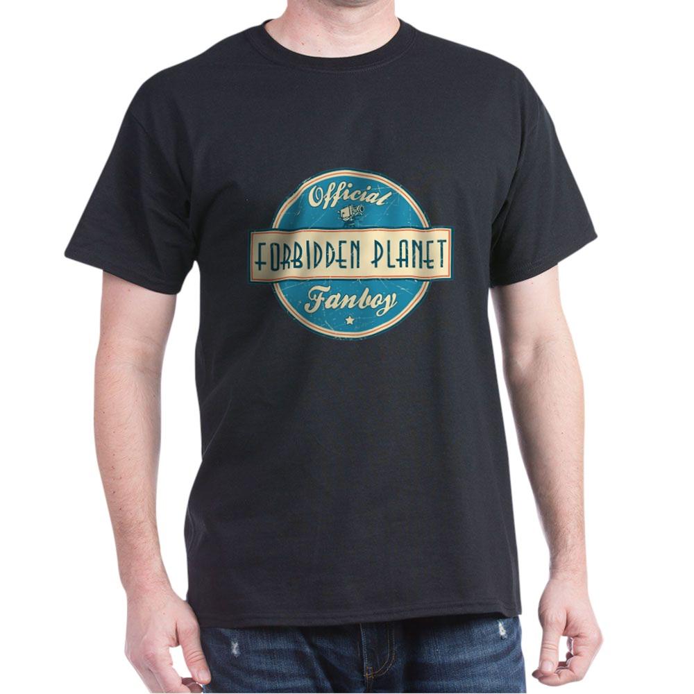 Official Forbidden Planet Fanboy Dark T-Shirt