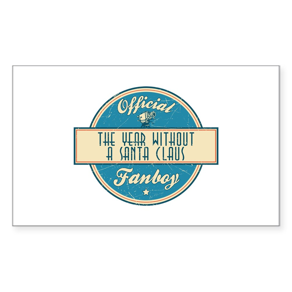 Official The Year Without a Santa Claus Fanboy Rectangle Sticker
