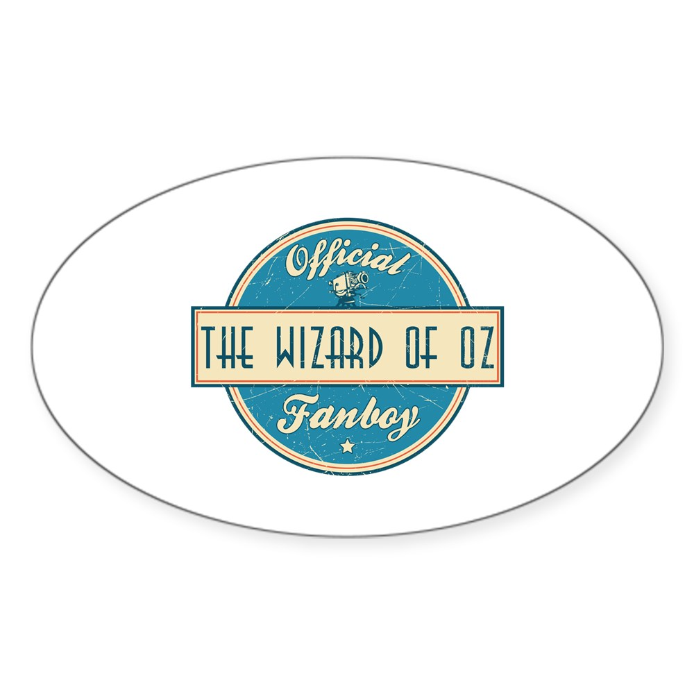 Official The Wizard of Oz Fanboy Oval Sticker