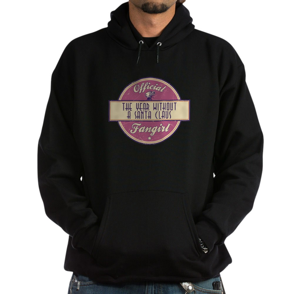 Official The Year Without a Santa Claus Fangirl Dark Hoodie