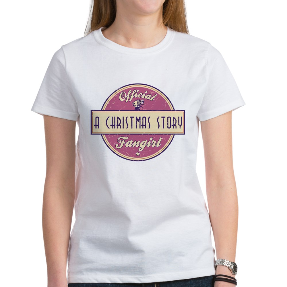 Official A Christmas Story Fangirl Women's T-Shirt