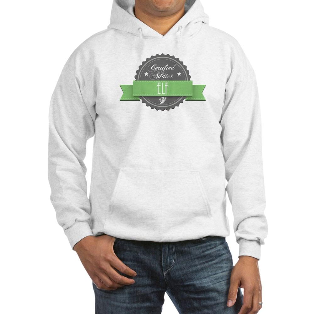 Certified Addict: Elf  Hooded Sweatshirt