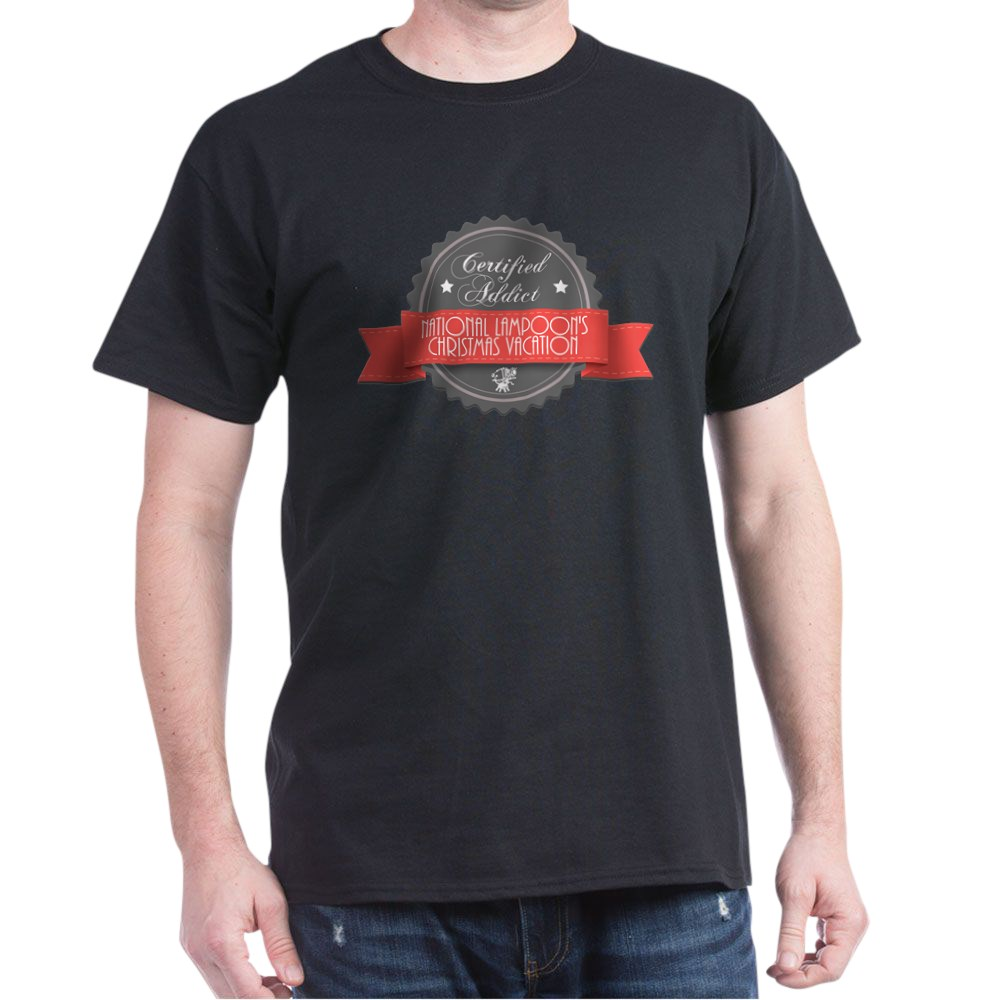 Certified Addict: National Lampoon's Christmas Vacation  Dark T-Shirt
