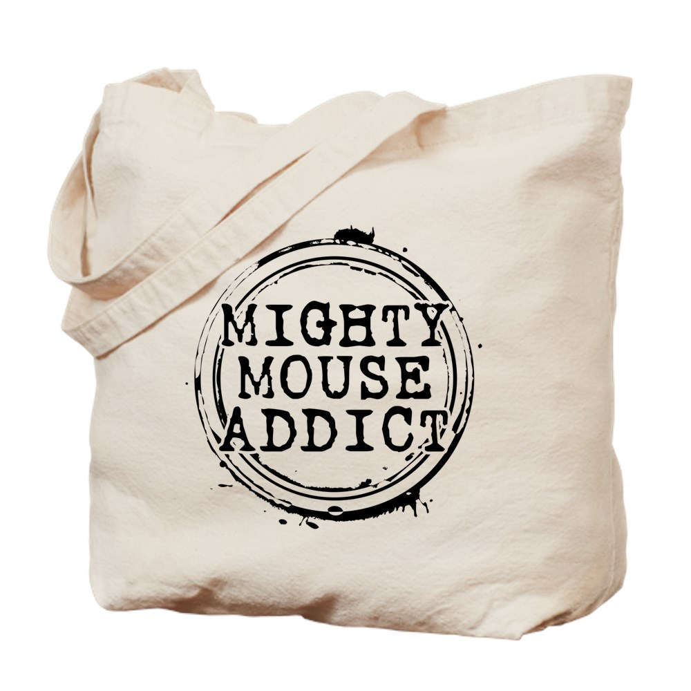 Mighty Mouse Addict Tote Bag