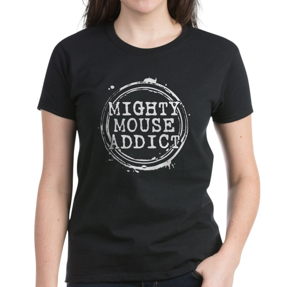 Mighty Mouse Addict Women's Dark T-Shirt